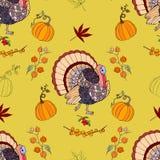 Thanksgiving sans couture de modèle Image libre de droits