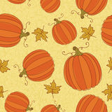 Thanksgiving seamless pattern. Royalty Free Stock Image