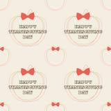 Thanksgiving seamless pattern Royalty Free Stock Image