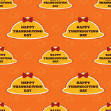 Thanksgiving seamless pattern Royalty Free Stock Images
