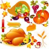 Thanksgiving set Stock Photo