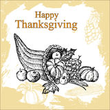 Thanksgiving set Royalty Free Stock Photos