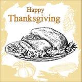 Thanksgiving set Stock Images