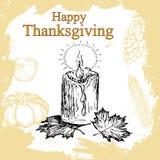 Thanksgiving set Royalty Free Stock Photo
