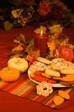 Thanksgiving Set Up Royalty Free Stock Images