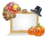 Thanksgiving Sign Stock Images