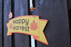 Thanksgiving sign Royalty Free Stock Images