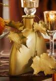 Thanksgiving table decoration Stock Photos