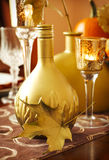 Thanksgiving table decoration Royalty Free Stock Photo