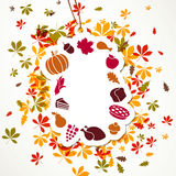 Thanksgiving Tag Royalty Free Stock Image