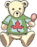 THANKSGIVING TEDDY BEAR Stock Images
