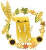 Thanksgiving theme stock illustration