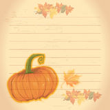 Thanksgiving theme Royalty Free Stock Photography