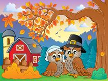 Thanksgiving theme image 4. Eps10 vector illustration Royalty Free Stock Photo