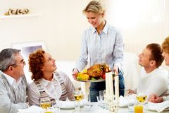 Thanksgiving time Stock Image