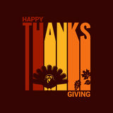Thanksgiving turkey abstract background Royalty Free Stock Images