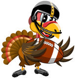Thanksgiving Turkey American Football Ball Royalty Free Stock Photo