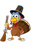Thanksgiving Turkey Character Stock Photography