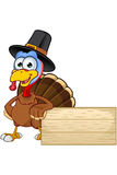 Thanksgiving Turkey Character Royalty Free Stock Image