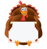 Thanksgiving Turkey with copyspace Stock Photos