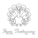 Thanksgiving turkey Royalty Free Stock Image