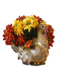Thanksgiving  Turkey decoration isolated Royalty Free Stock Images