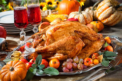 Thanksgiving turkey Stock Image
