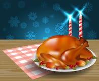 Thanksgiving turkey fried Stock Photo