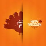 Thanksgiving turkey greeting card background Royalty Free Stock Photos