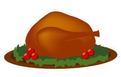 Thanksgiving Turkey Platter Royalty Free Stock Photos