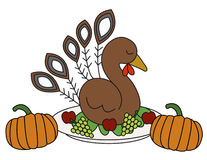 Thanksgiving turkey royalty free stock images