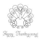 Thanksgiving Turquie Image libre de droits