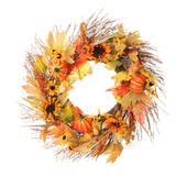 Thanksgiving wreath Royalty Free Stock Images