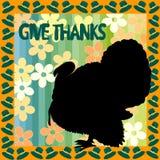 Thanksiving Abbildung Stockfotografie
