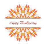 Thankskgiving-Hintergrund Lizenzfreies Stockbild