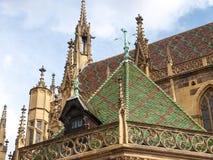 Thann, France. Cathedral of St. Ubaldo Royalty Free Stock Image