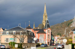 Thann village in Alsace, France Stock Photography