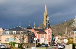 Thanndorp in de Elzas, Frankrijk Stock Fotografie