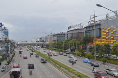 Thanon Nawamin road Street view in Bangkok Thailand Stock Images