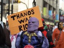 Thanos Był Prawy zdjęcie stock