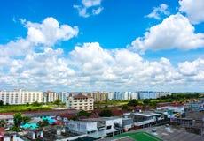 Thanyaburi miasto Obrazy Stock