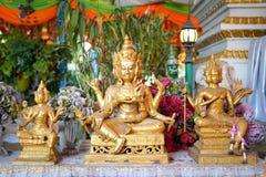 Thao Maha Brahma, святыня Erawan стоковая фотография