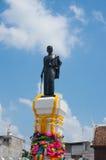 Thao Suranaree staty, Nakhon Ratchasima, Thailand Fotografering för Bildbyråer
