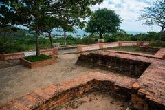 Thap Poshanu torn askfat vietnam Phan Thiet Arkivfoto
