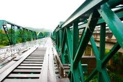 Thapai Bridge. Pai District, Maehongson , Thailand Royalty Free Stock Images