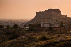 Thar öken, Marwar, Rajasthan royaltyfri bild