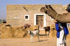 Thar Desert House Stock Photo
