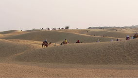 Thar Desert stock footage