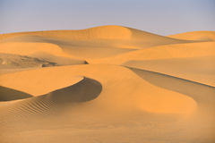 Thar Desert in Western India. Thar Desert or great Indian desert in Western India. Locate near Jaisalmer City in the state of Rajasthan, near the border of Royalty Free Stock Image