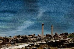 Tharros της Σαρδηνίας Στοκ Εικόνες
